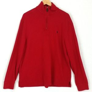 Polo Ralph Lauren Quarter Zip Pullover Sweater